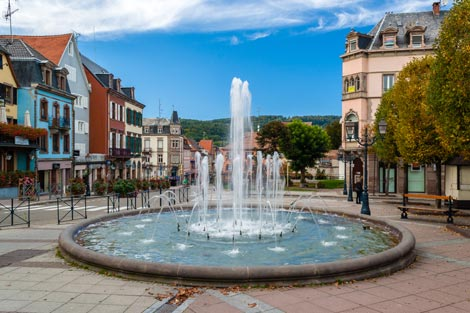 Water Fountain in Saverne