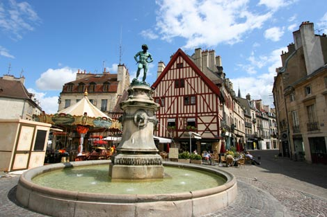 Water Fountain in Dijon