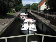Locks hold a number of boats
