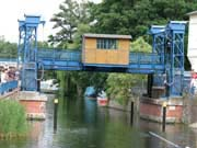 The lift bridge at Plau