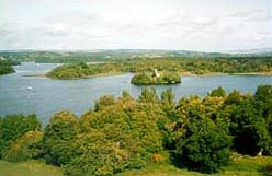 View over Lough Key from the tower