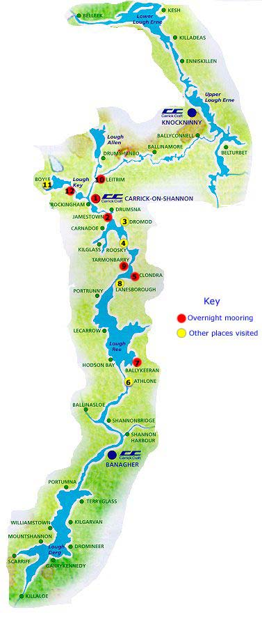 River Shannon Map