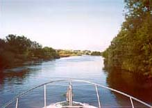 Cruising up the Shannon