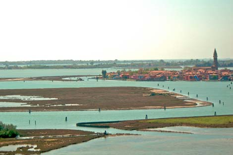 View from the tower of Torcello