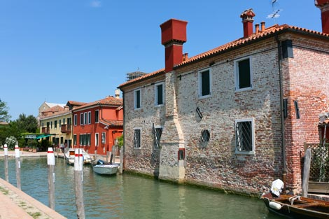 Canal Houses in Torcello
