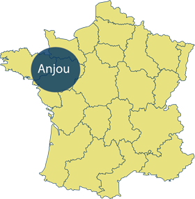 Anjou Area Map