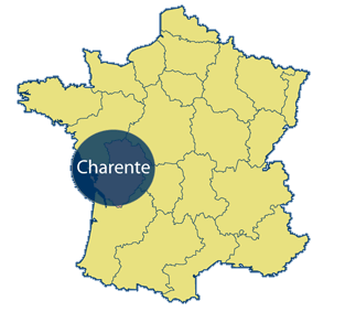 Charante Area Map