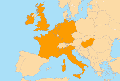 Europe Boat Hire Locations