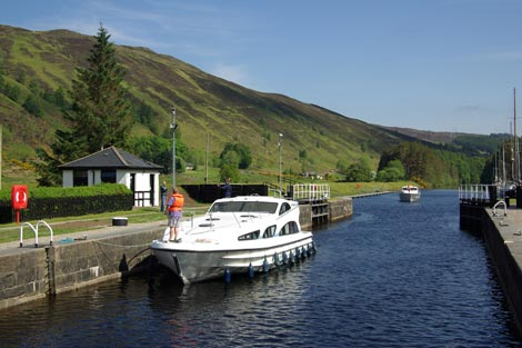 Gateway to the Caledonian Canal