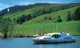 Cruise the Caledonian Canal through Scotland's highlands